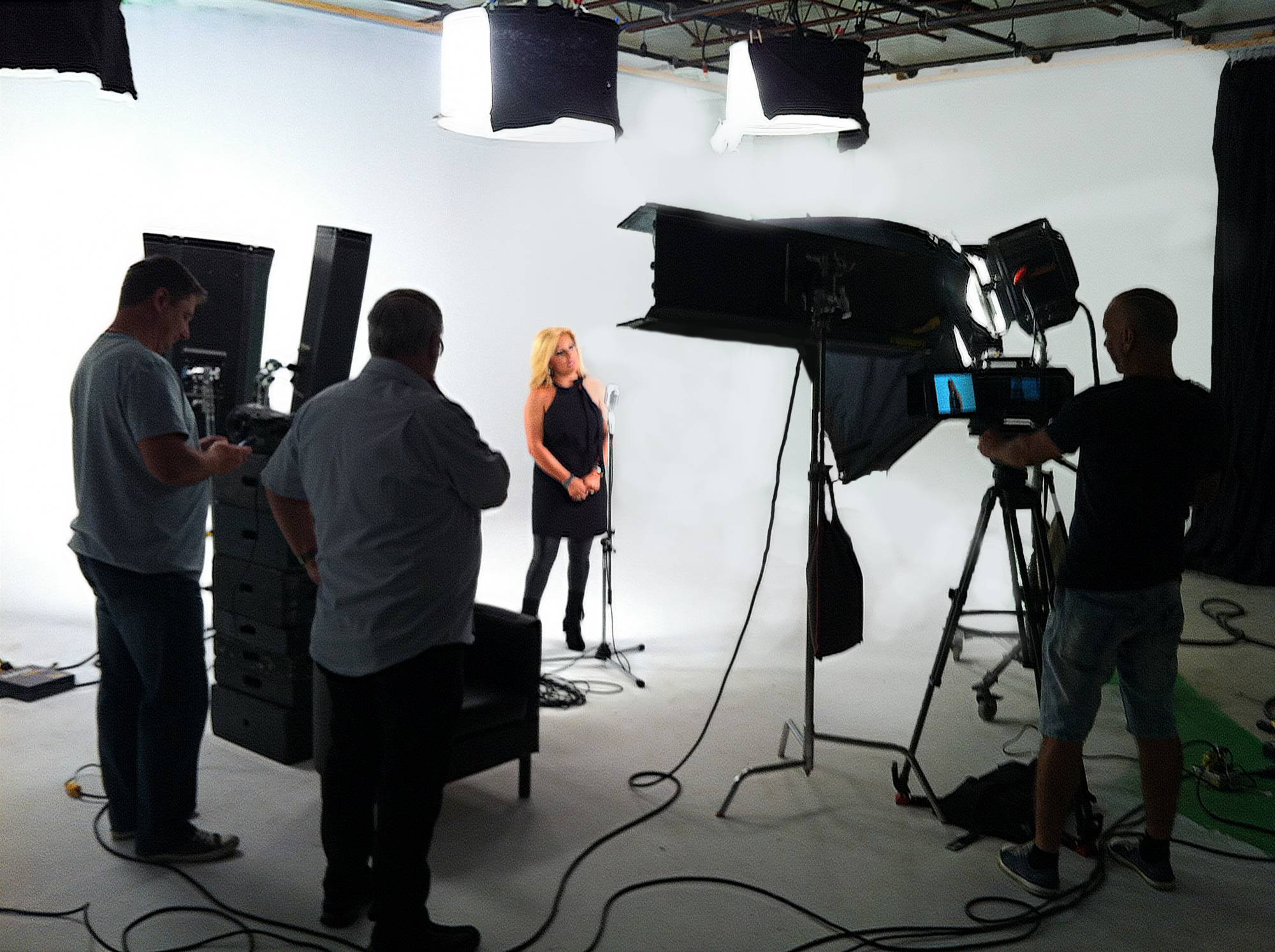Commercial Shooting In Studio